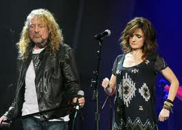 Robert Plant and Grammy winner Patty Griffin perform together at the Americana Root Music Awards ceremony in Nashville