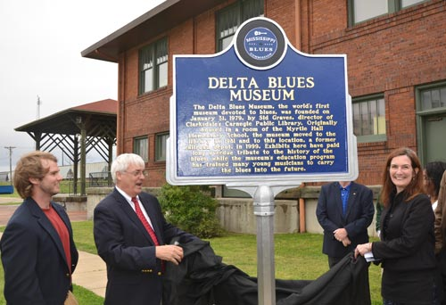 Delta Blues Museum Marker