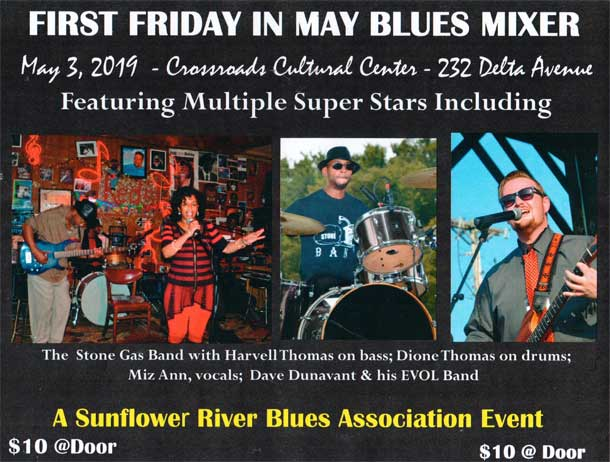 First Friday In May Blues Mixer