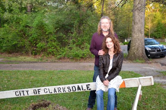 Robert Plant and Patty Griffin in Clarksdale MS