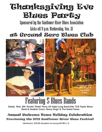 Thanksgiving Eve Blues Party