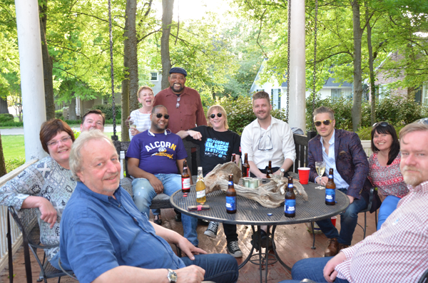 Clarksdale's Sunflower River Blues Festival members Welcome 10-member delegation