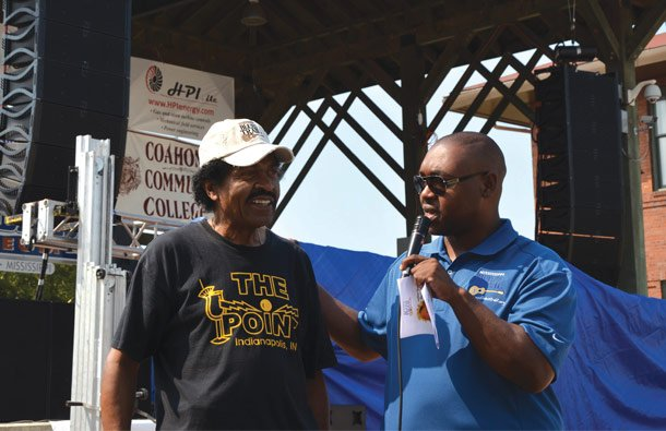 Bobby Rush & Alex Thomas, Mississippi Heritage Trail Director