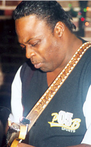 Terry Williams Playing Guitar